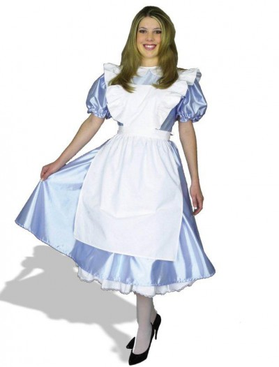 Alice Adult Plus Costume
