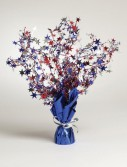 Patriotic Stars Foil Spray Centerpiece