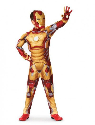 Iron Man 3 Mark 42 Muscle Light Up Child Costume