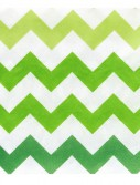 Chevron Green Beverage Napkins (20 count)