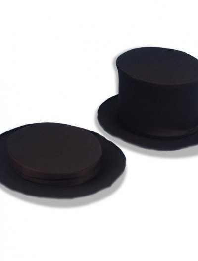Collapsible Top Hat Black Child