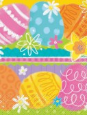 Easter Spring Eggs Beverage Napkins