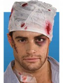 Bloody Head Bandage Adult