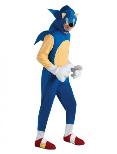 Sonic The Hedgehog Deluxe Adult Costume