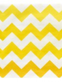 Chevron Yellow Beverage Napkins (20 count)