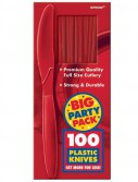 Apple Red Big Party Pack - Knives (100 count)