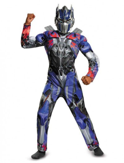 Transformers 4 Age of Extinction Optimus Prime Muscle Child Costume