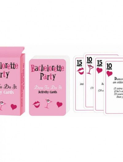 Bachelorette Dare to Do It Card Game