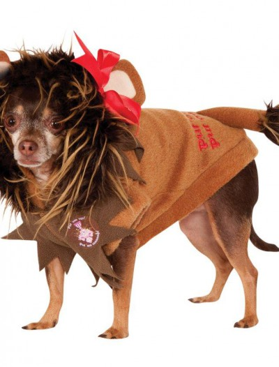 Wizard Of Oz - Cowardly Lion Dog Costume