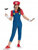 Super Mario Brothers Tween Mario Girl Costume