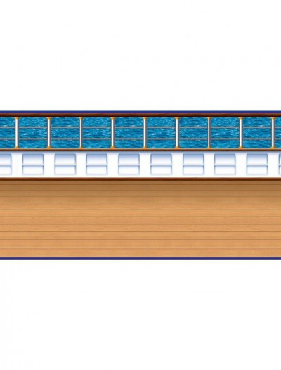 30' Cruise Ship Deck Backdrop