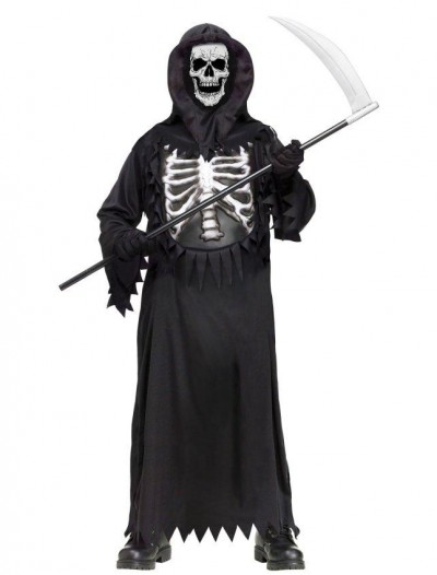 Glow Chest Reaper Child Costume