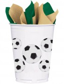 Soccer Fan 14 oz. Plastic Cups (8)