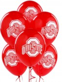 Ohio State Buckeyes - Latex Balloons (10 count)