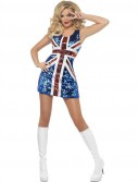 All That Glitters Rule Britannia Union Jack Dress Costume