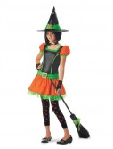 Sassy Pumpkin Witch Tween Costume