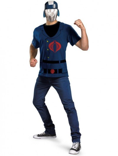 G.I. Joe - Cobra Commander Adult Plus Costume Kit