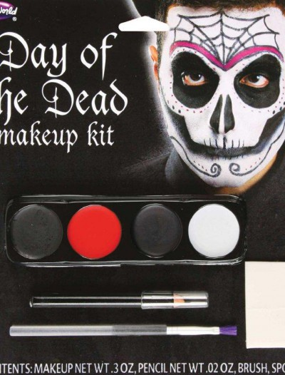 Day Of The Dead Mens Makeup Kit