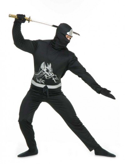 Black Ninja Adult Avengers Series II Costume