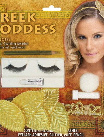 Greek Head Band And Makeup Kit