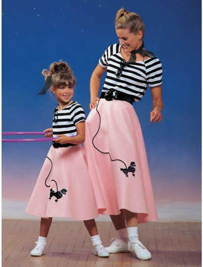 1950s Poodle Skirt Child Costume