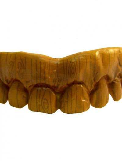 Fake Wooden Teeth