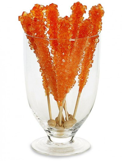 Orange-sicle Rock Candy Stick