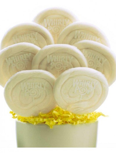 White and White Whirly Pops