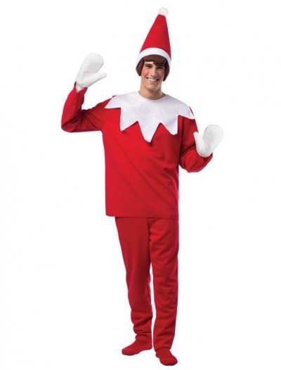 Elf On The Shelf Adult Costume