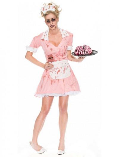 Zombie Waitress Womens Costume