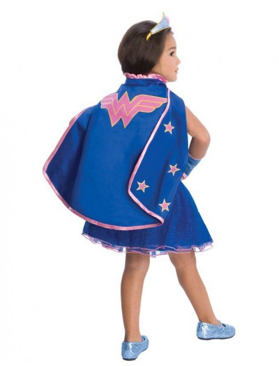 Wonder Woman Cape With Puff Hanger
