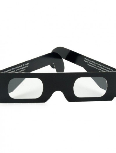 Amazing 3D Paper Glasses (4 count)