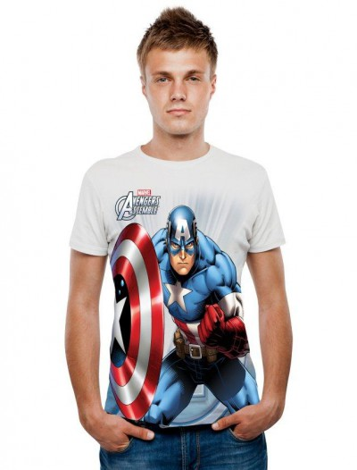 Marvel - Captain America Digital T-Shirt