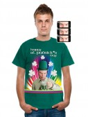 St. Patricks Day - Crosseyed Drinking Leprechaun T-Shirt