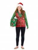 Ugly Sweater Vest Ladies Christmas Shirt