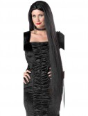 40 Black Raven Witch Wig