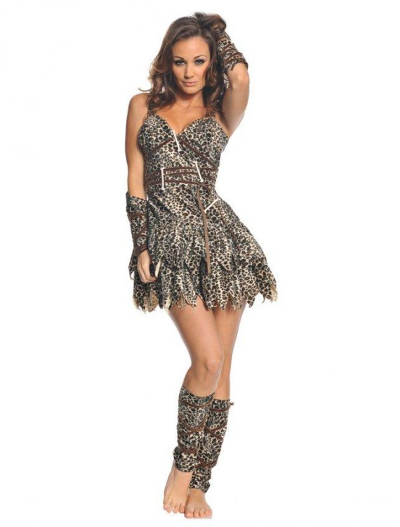 Goin' Clubbin Cave Woman Costume