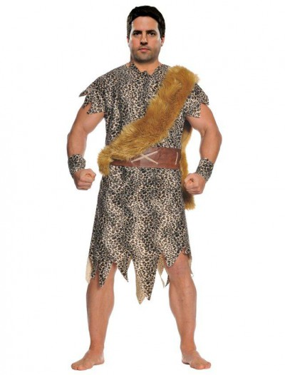 Cave Dweller Plus Size Cave Man Costume