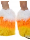 Deluxe Candy Corn Leg Warmers