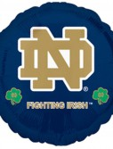 Notre Dame Fighting Irish Foil Balloon
