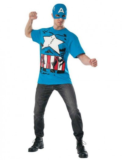 Marvel Classic - Captain America T-Shirt Kit