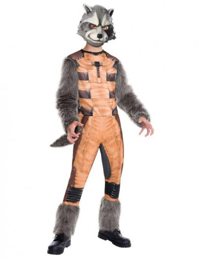 Guardians of the Galaxy - Deluxe Rocket Raccoon Kids Costume