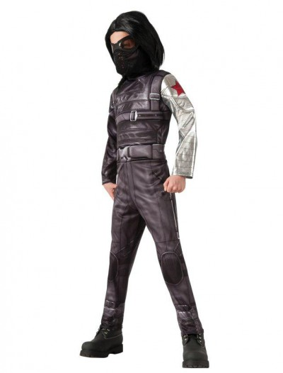 Captain America Winter Soldier - Deluxe Winter Soldier Child Costume