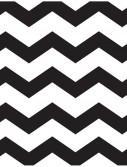 Chevron Black Lunch Napkins (16 count)