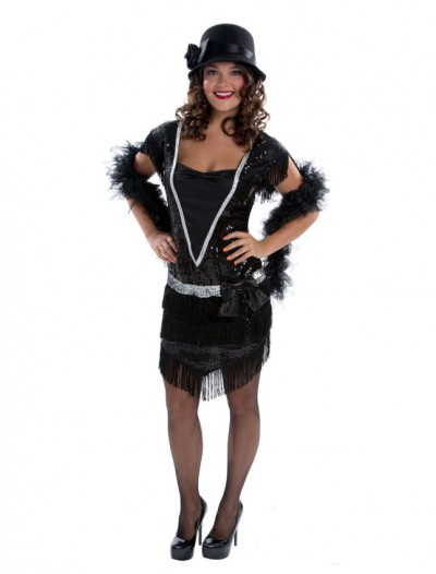 Elegant Womens Flapper Adult Costume