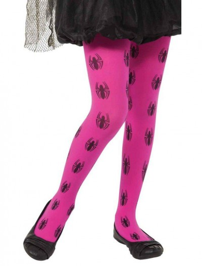 Marvel Pink Spider-Girl Tights
