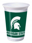 Michigan State University Spartans 20 oz. Cups (8)