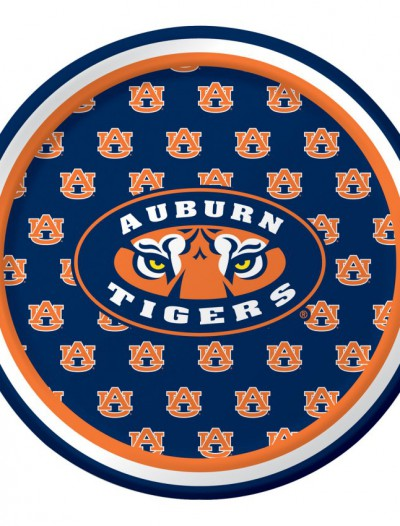 University of Auburn Tigers Dessert Plates (8)