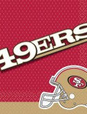 San Francisco 49ers Lunch Napkins (16)