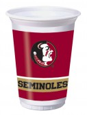 Florida State University Seminoles 20 oz. Cups (8)